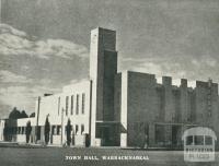 Town Hall, Warracknabeal, 1945