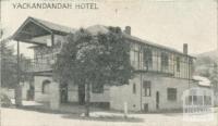 Yackandandah Hotel