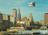 Heliport, City Skyline, Melbourne
