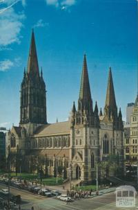 St Paul's Cathedral, Melbourne, 1975