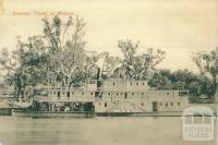 Steamer Gem at Mildura, c1910