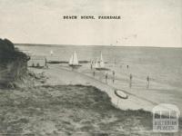 Beach Scene, Parkdale, 1955