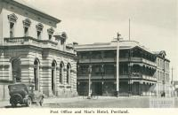 Post Office and Mac's Hotel, Portland