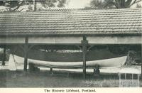 The historic lifeboat, Portland