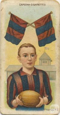 Fitzroy Football Club, Capstan Cigarettes Card