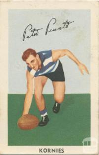 Peter Pianto, Geelong Football Club, Kornies Card