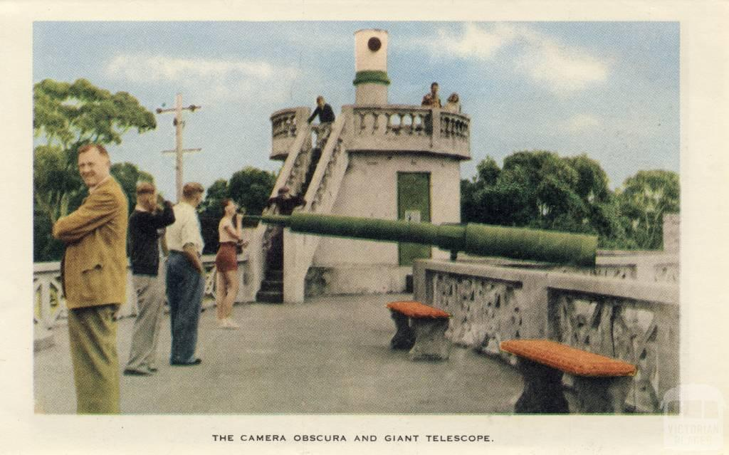 The camera obscura and giant telescope, Arthurs Seat