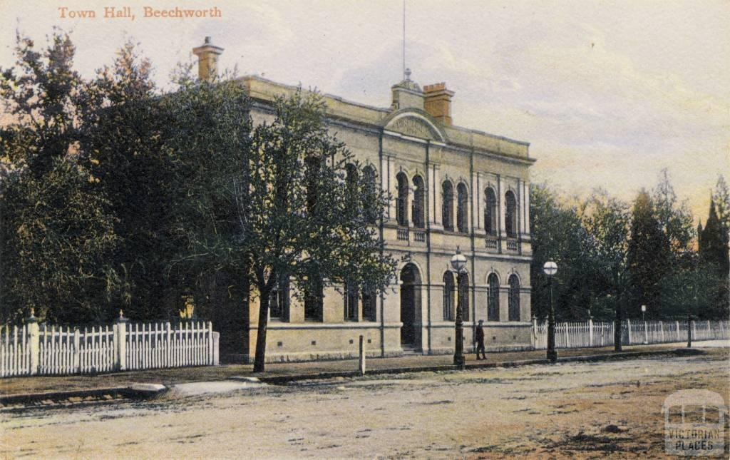 Town Hall, Beechworth