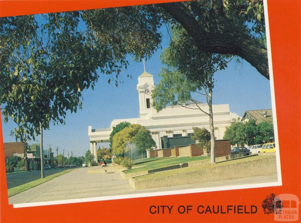 City Hall and offices, Caulfield