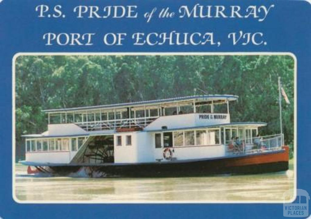 PS Pride of the Murray, Port of Echuca