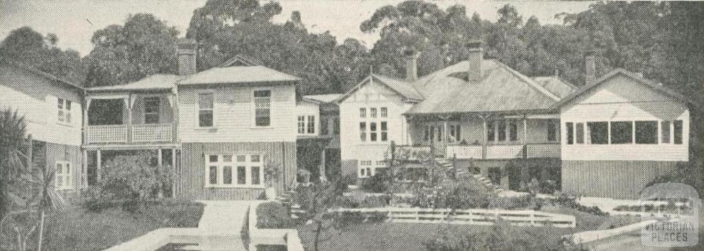 Healesville Chalet, 1950