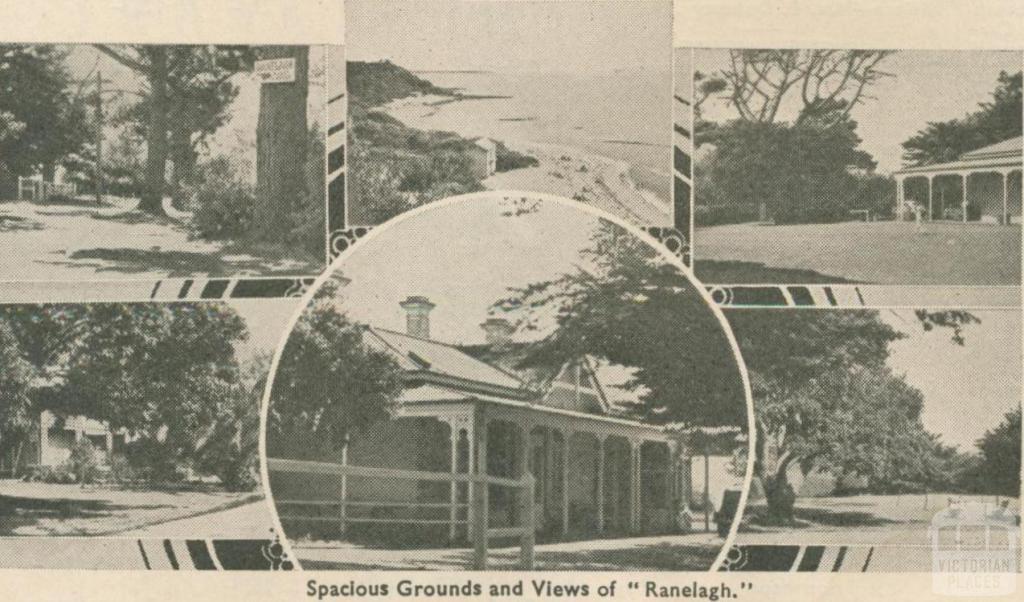 Ranelagh House, Mount Eliza, 1947-48