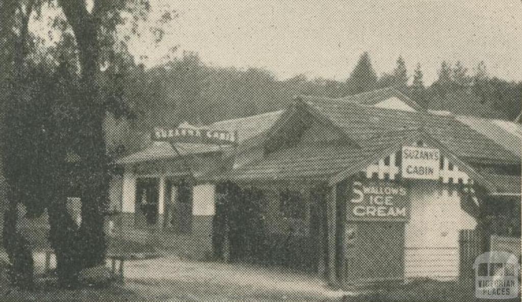 Suzann's Cabin, Healesville, 1947-48