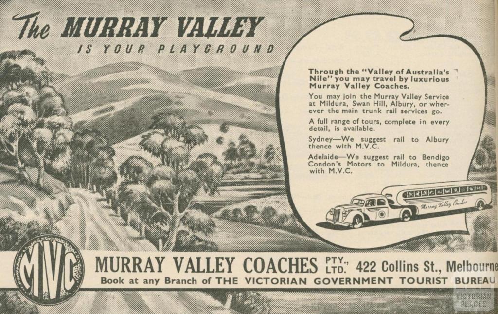 Murray Valley Coaches, 1947-48