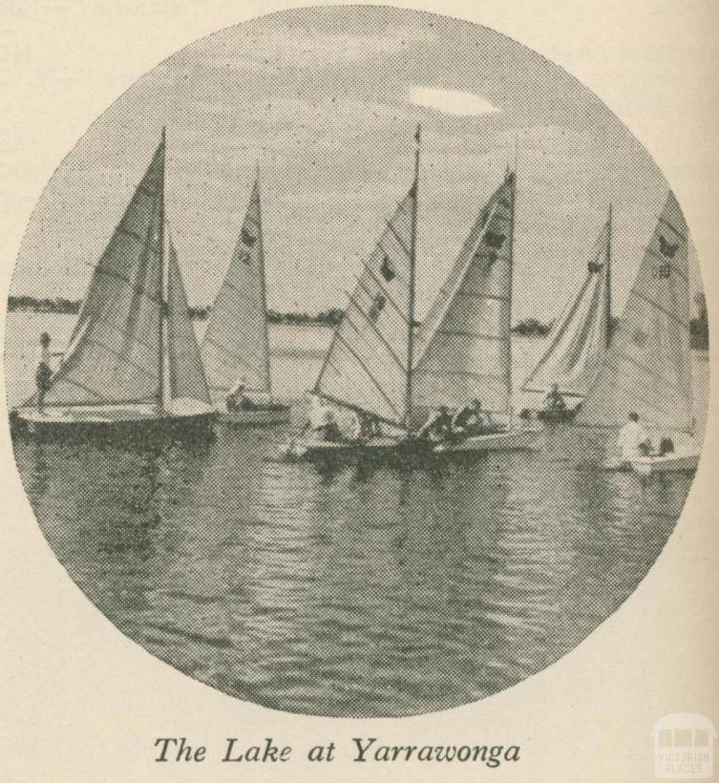 The Lake at Yarrawonga, 1947-48