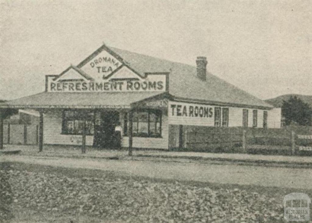 Warren's Refreshment Rooms, Dromana, 1918-20