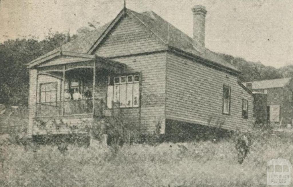 Corhanwarrabul Boarding House, Upper Fern Tree Gully, 1918-20