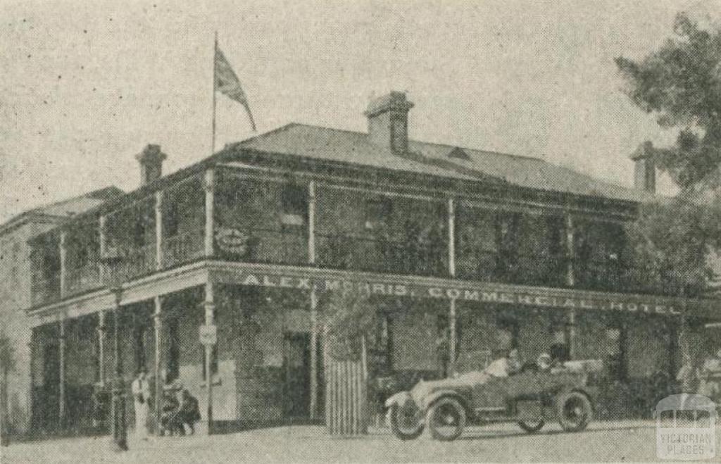 Commercial Hotel, Alexandra, 1918-20
