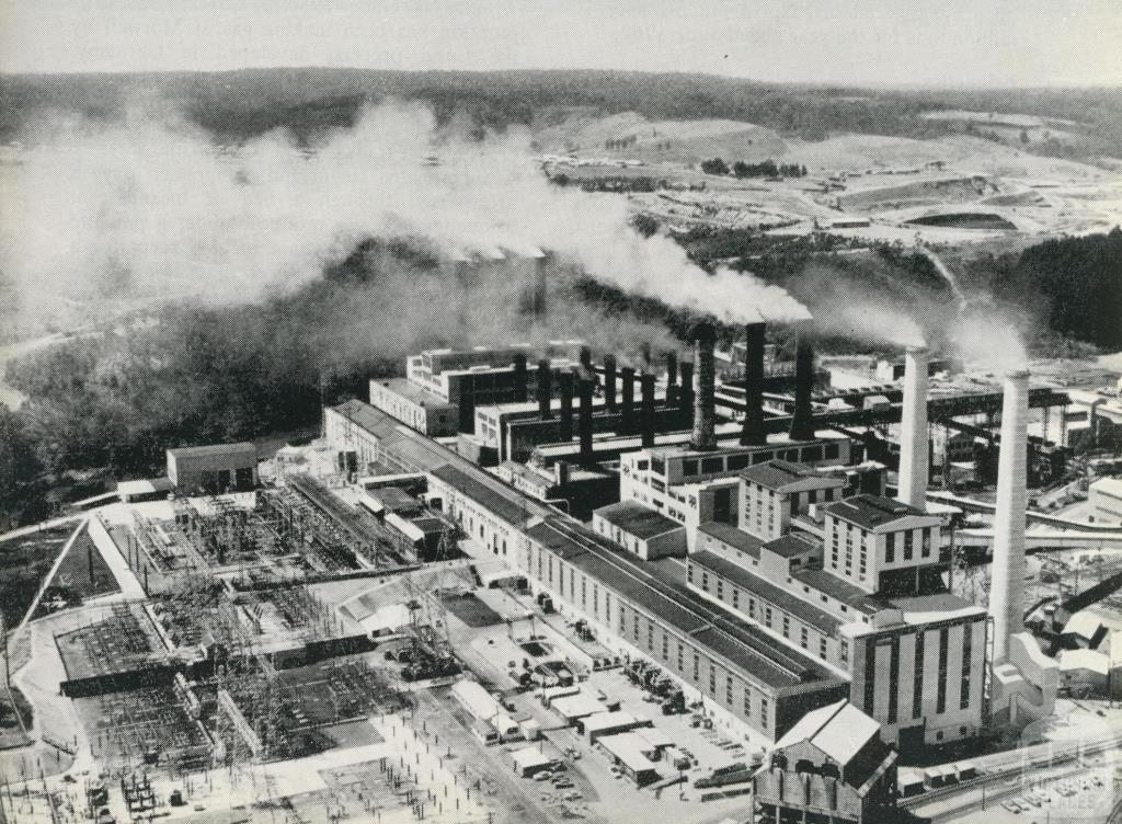 Yallourn Power Station, 1964