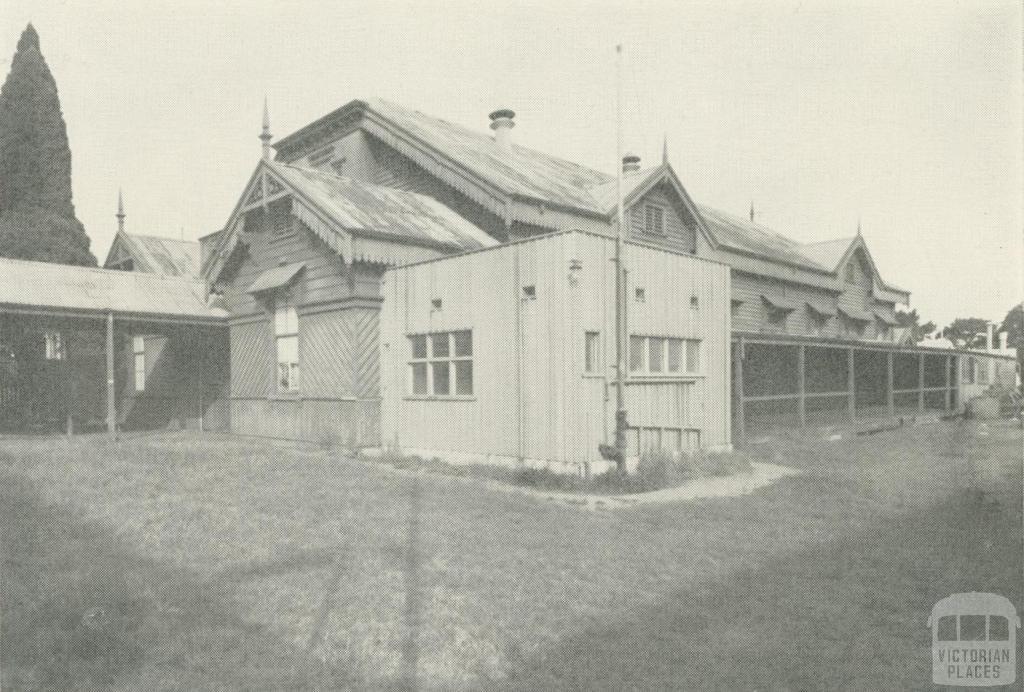 Kew Recreation Hall, built 1880, demolished 1960