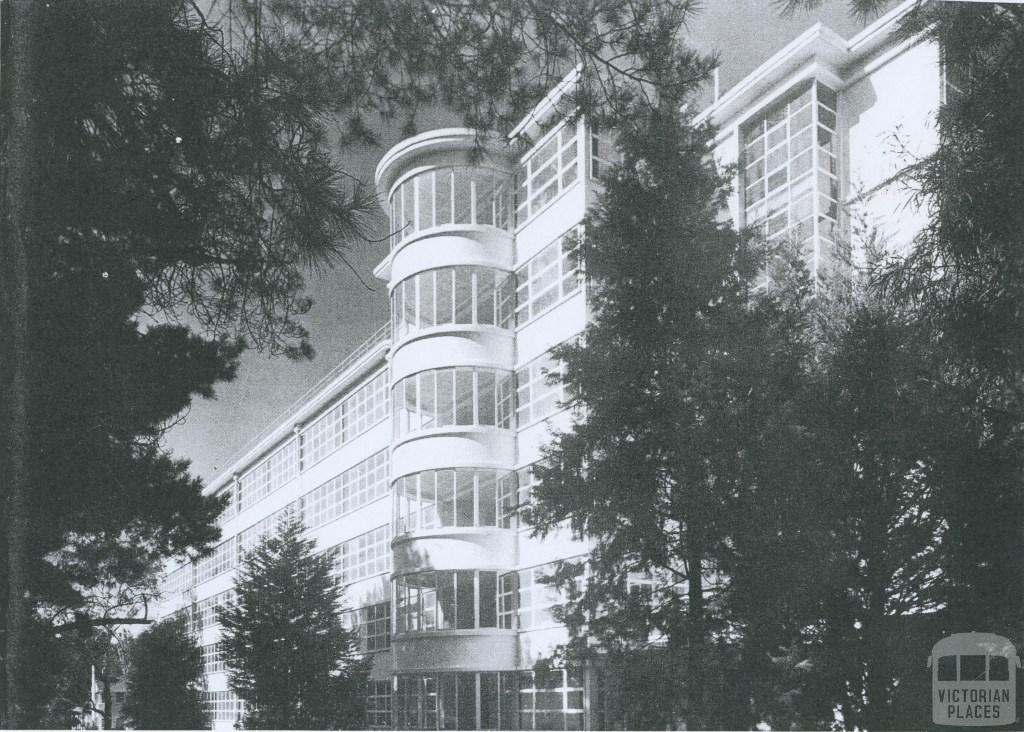 Heatherton Sanitorium, 1953