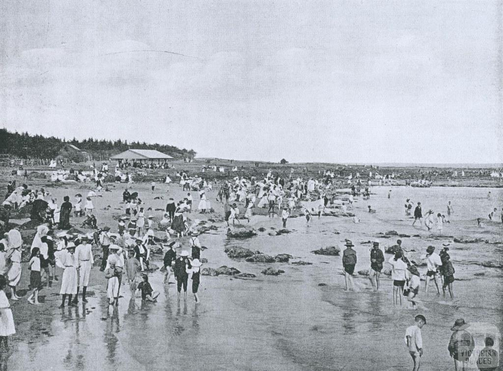 Back Beach, Williamstown, 1911