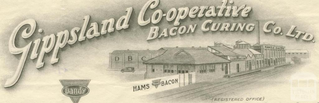 Gippsland Co-operative Bacon Curing, 1949
