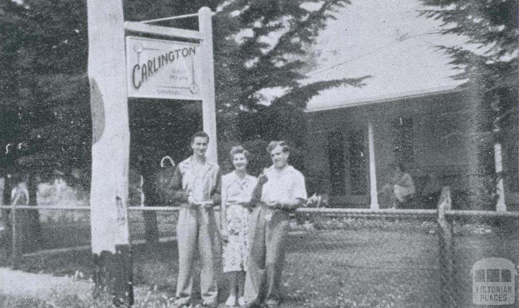 Carlington Guest House, West Rosebud, 1948