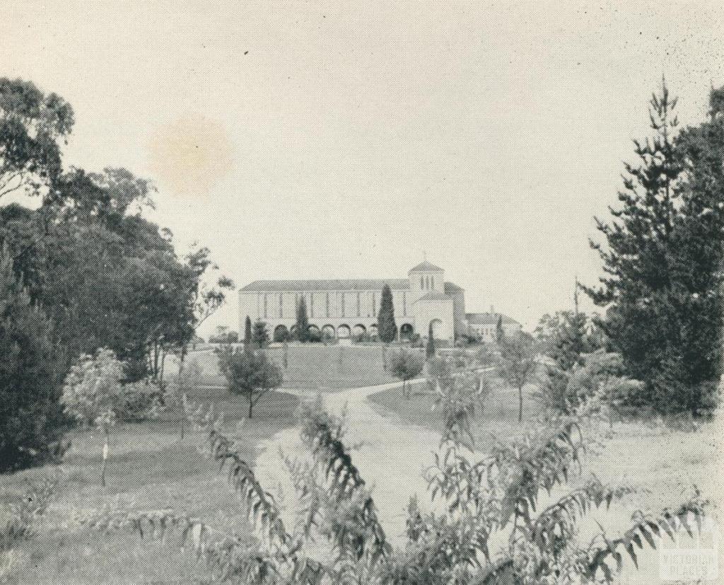White Friars Monastery, Mitcham, 1956