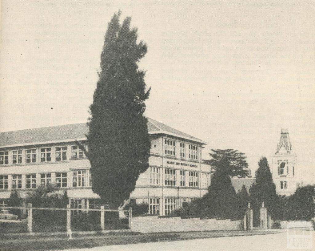 District Hospital, Ararat, 1960