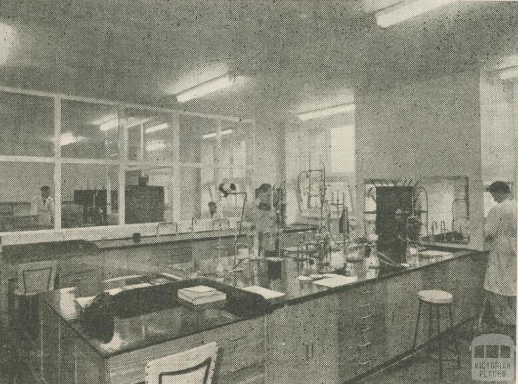Monsanto Research Laboratories, West Footscray, 1957