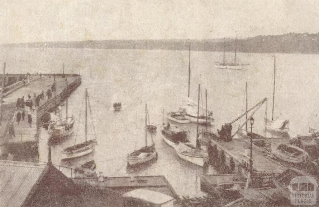 Boats at Mornington, 1929