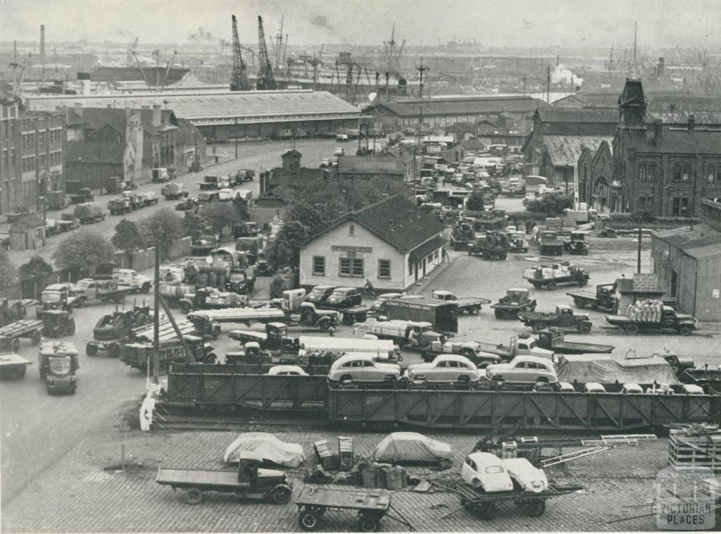 Port of Melbourne Goods Shed, 1948