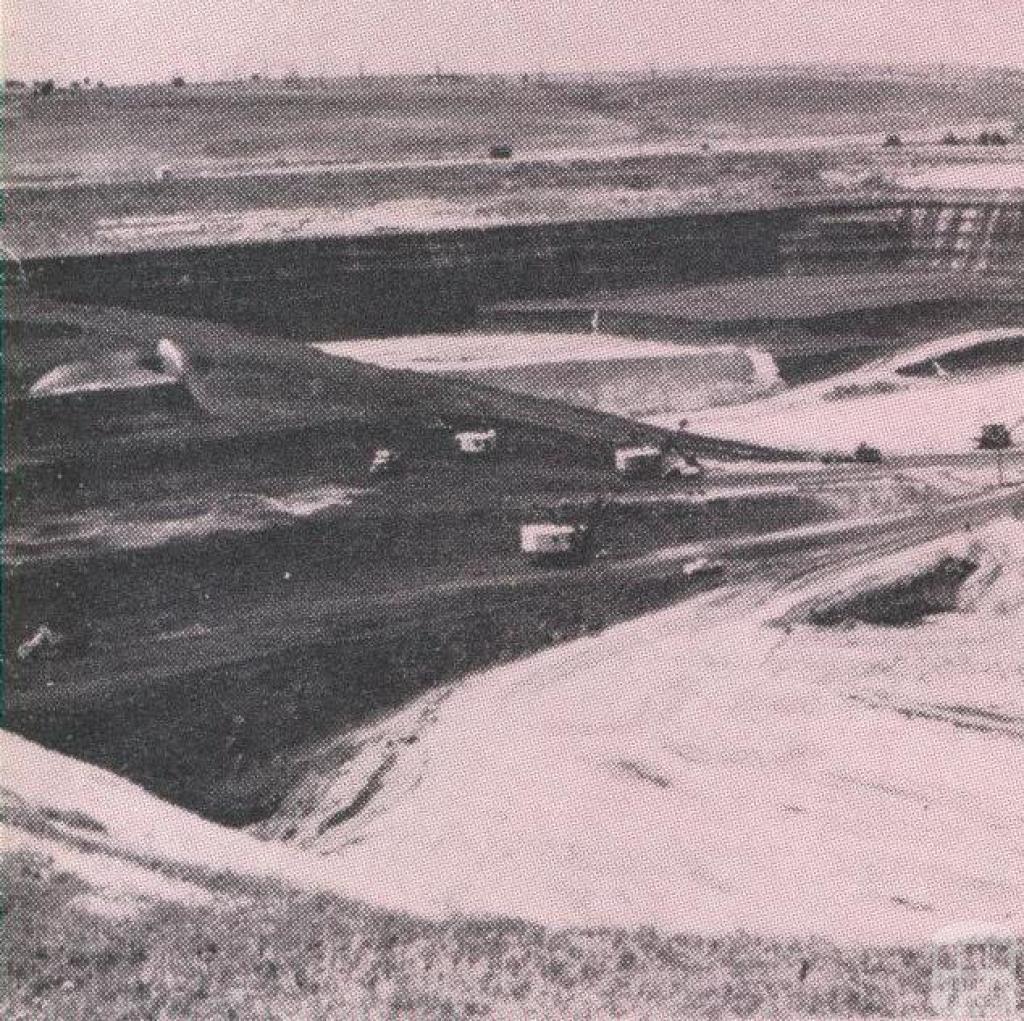 Maddingley Open Cut Coal Mine, 1968