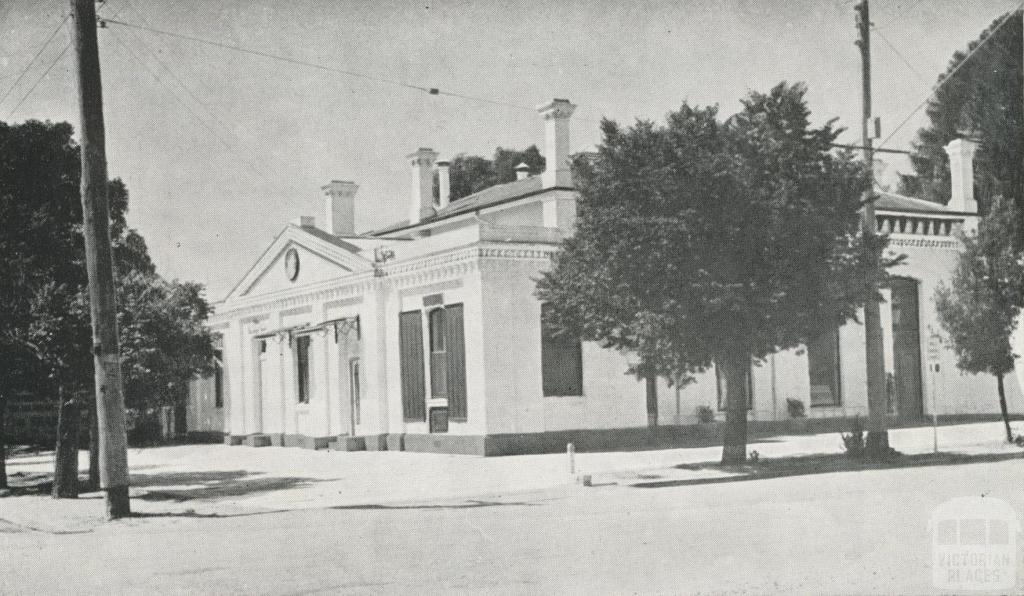 Echuca Regional Library and Kindergarten, located in the former Town Hall building, 1968