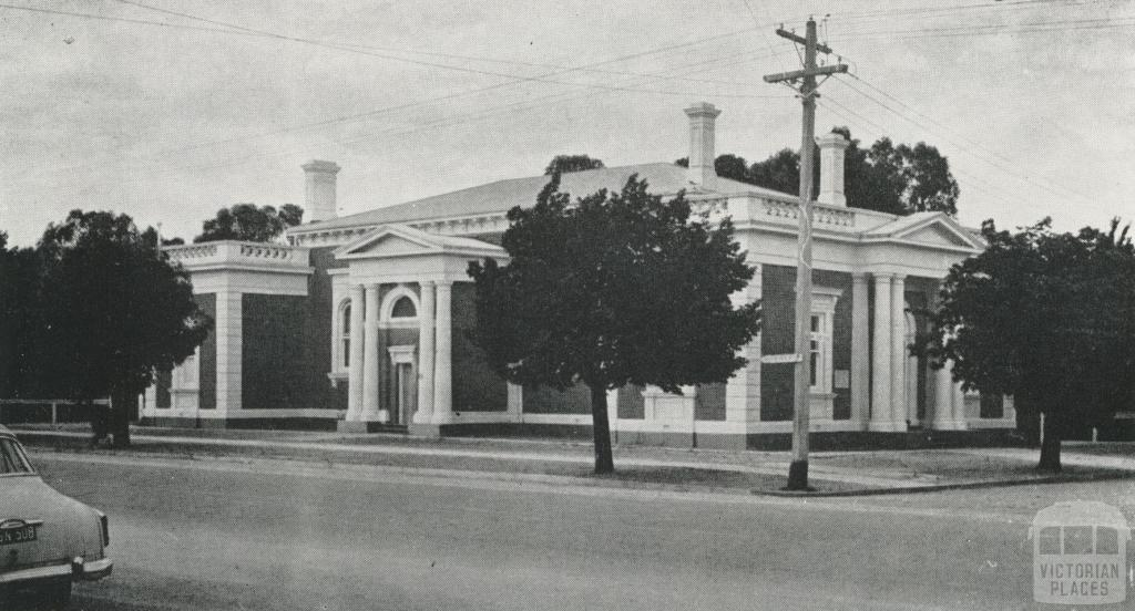 Echuca Court House, 1968