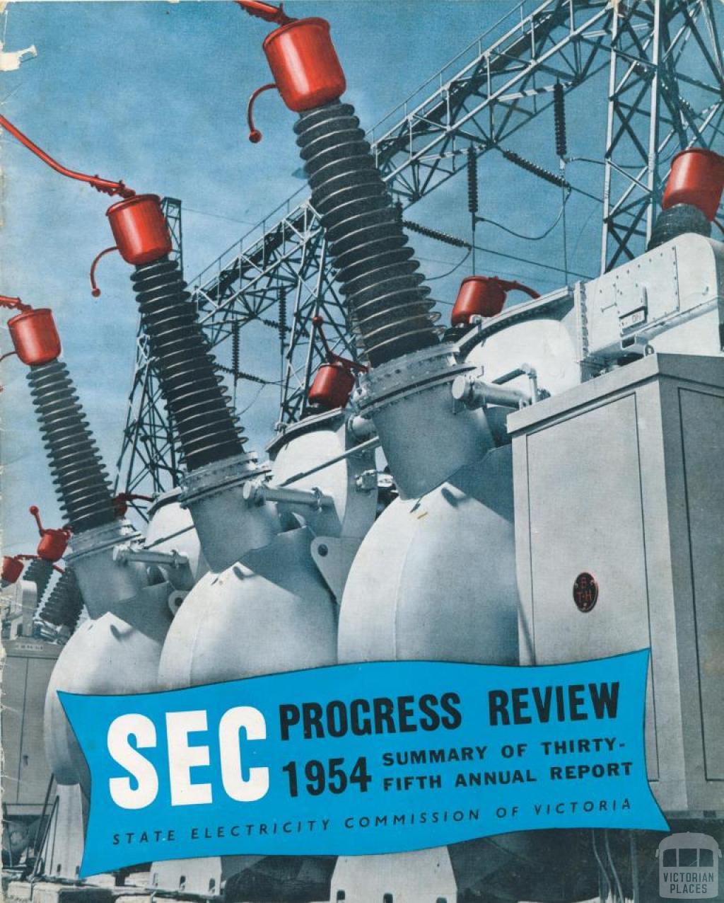 SEC Progress Review, 1954