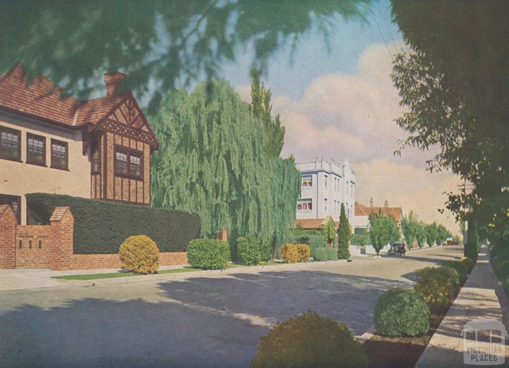 Marne Street, South  Yarra, 1935