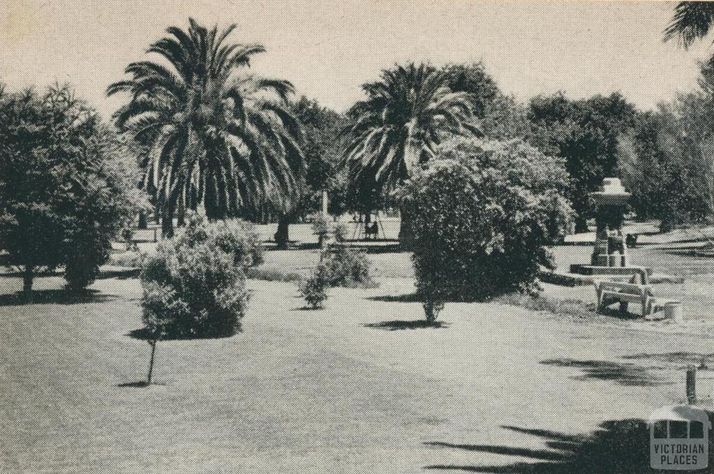 The Gardens at May Park, Horsham, 1960