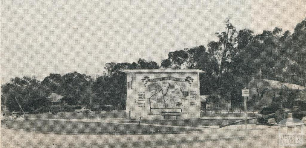 Tourist information, Echuca, 1961