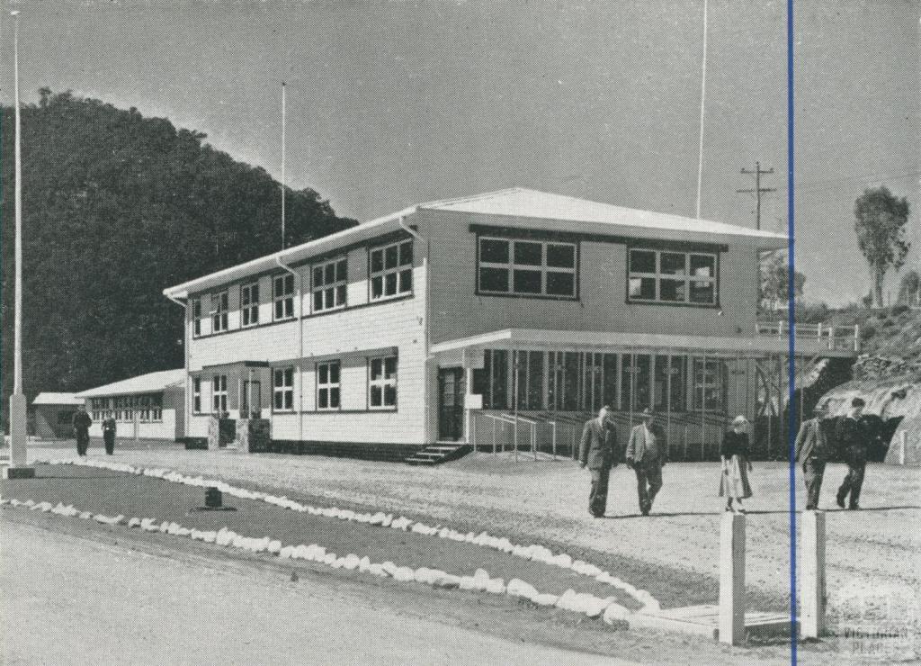 Administration Office, Upper Yarra, 1956