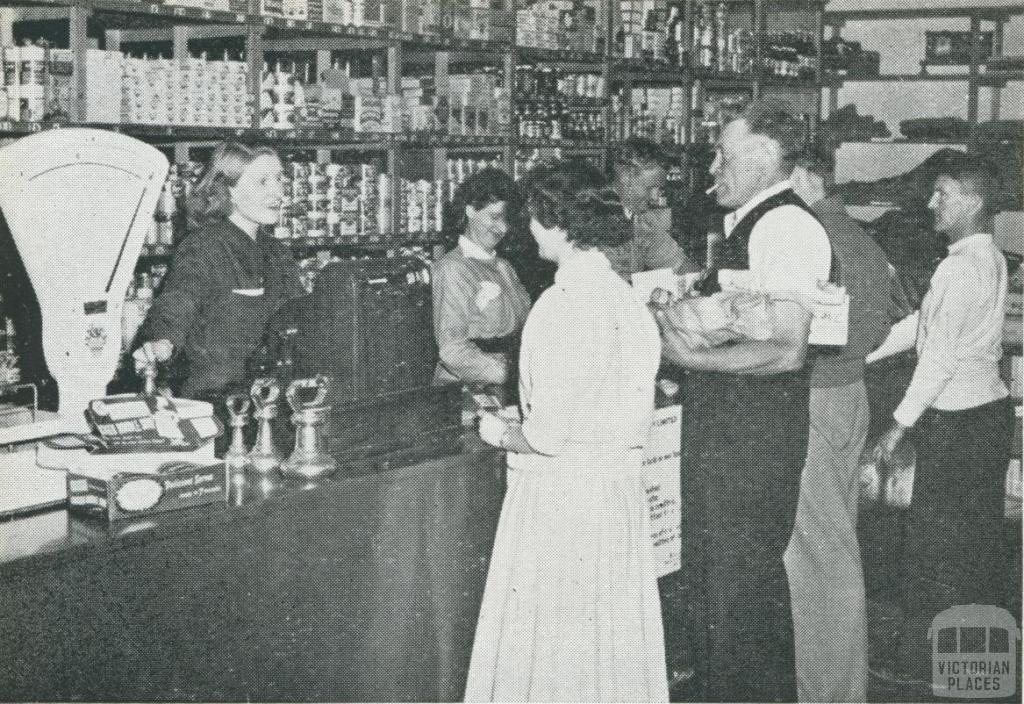 Upper Yarra Co-operative Store, 1956
