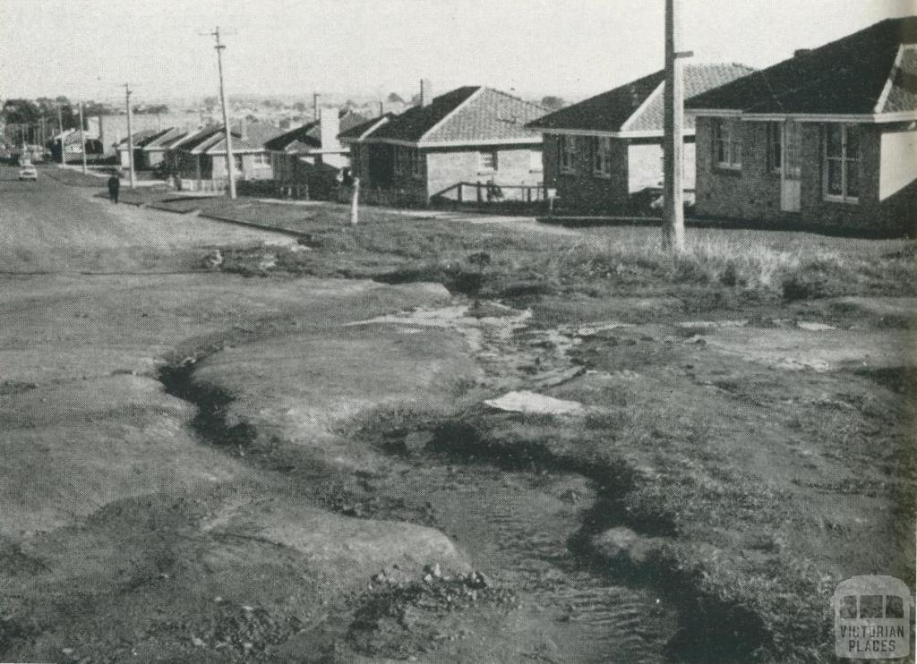 Household sullage water from properties in unsewered areas, Melbourne, 1957