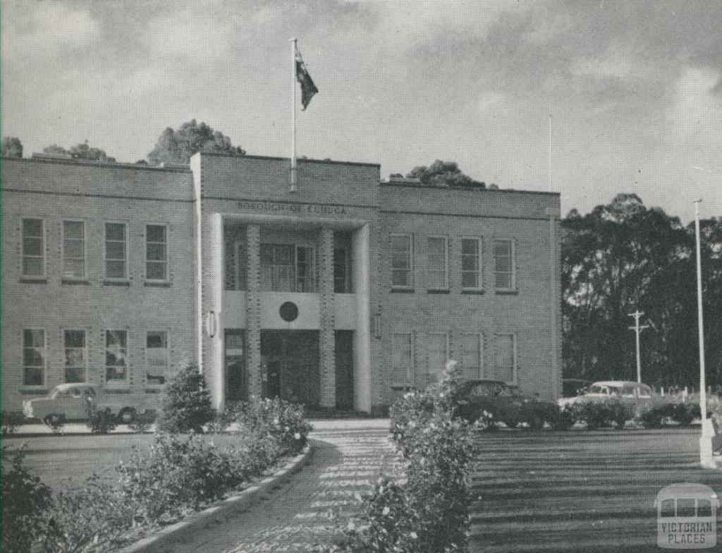 Civic Headquarters, Echuca, 1958
