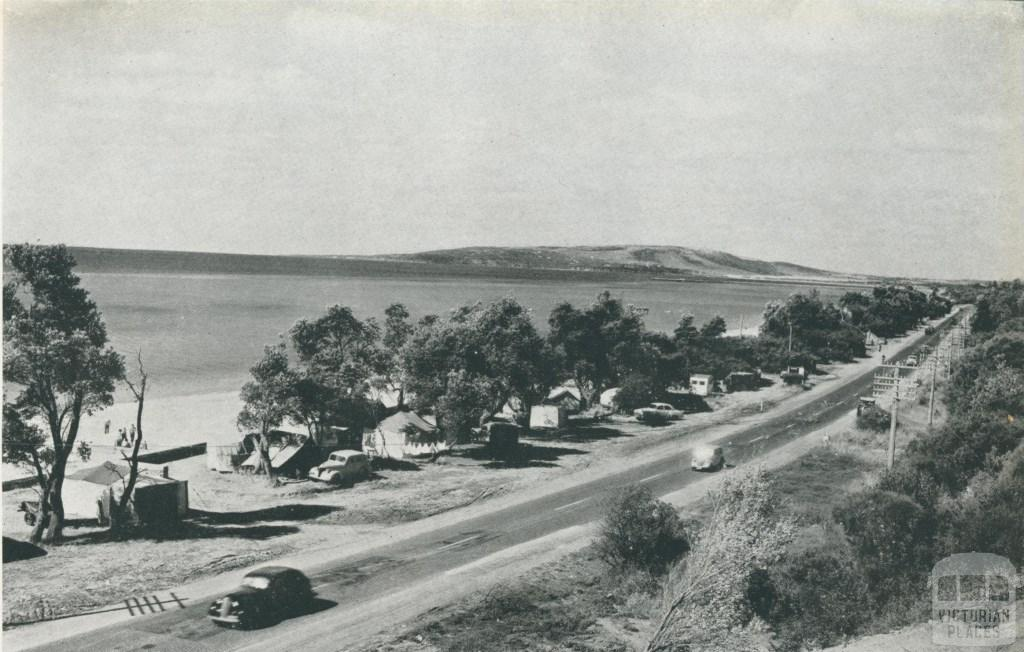 Nepean Highway, near Dromana, 1955