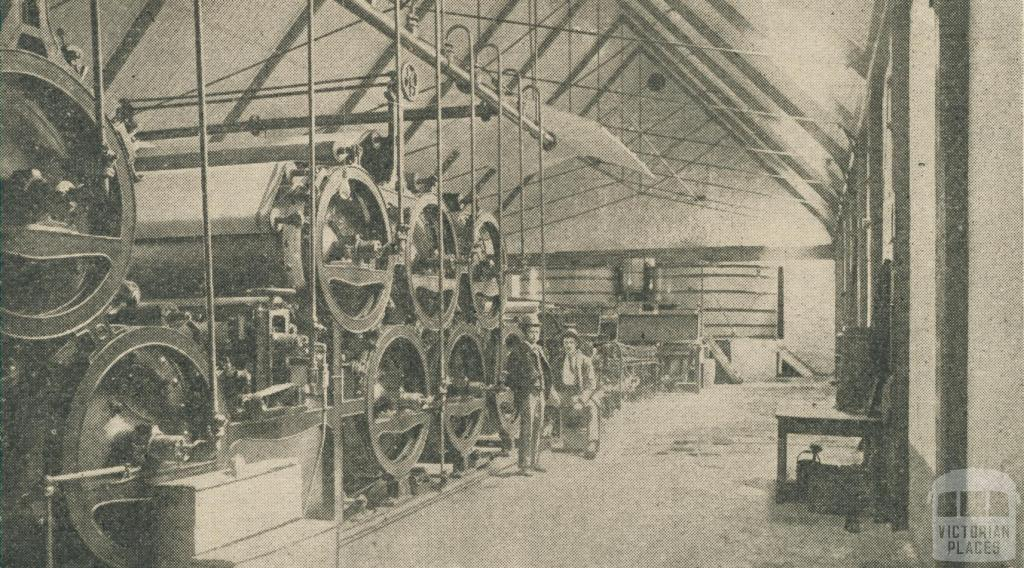 The Geelong Mill Paper Machine, 1947