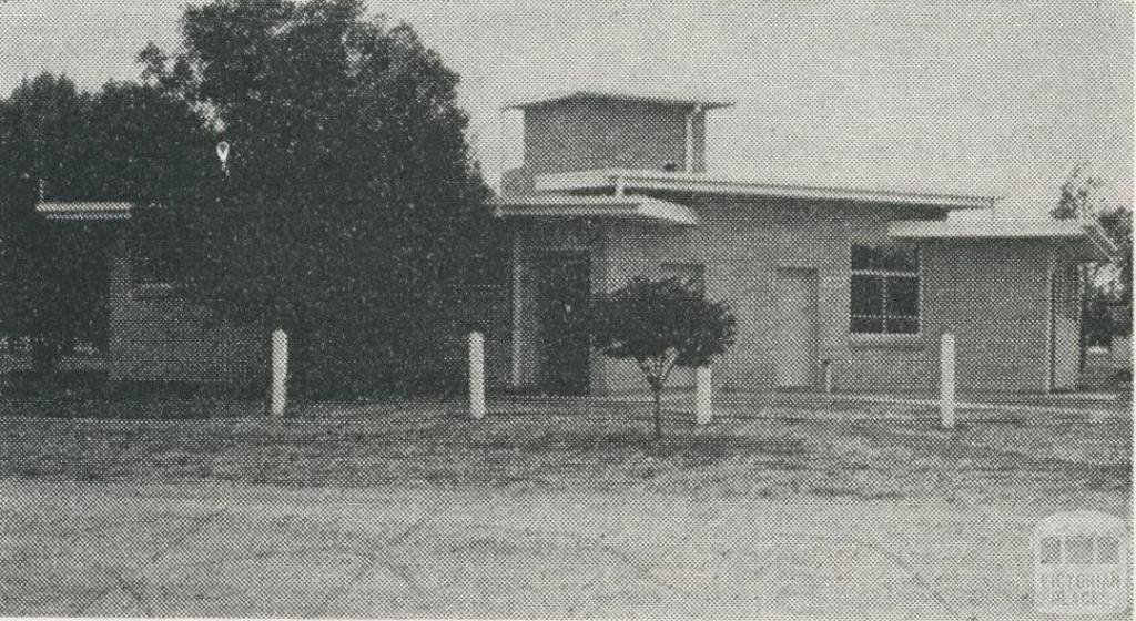 Caravan Park, Kerang, 1965