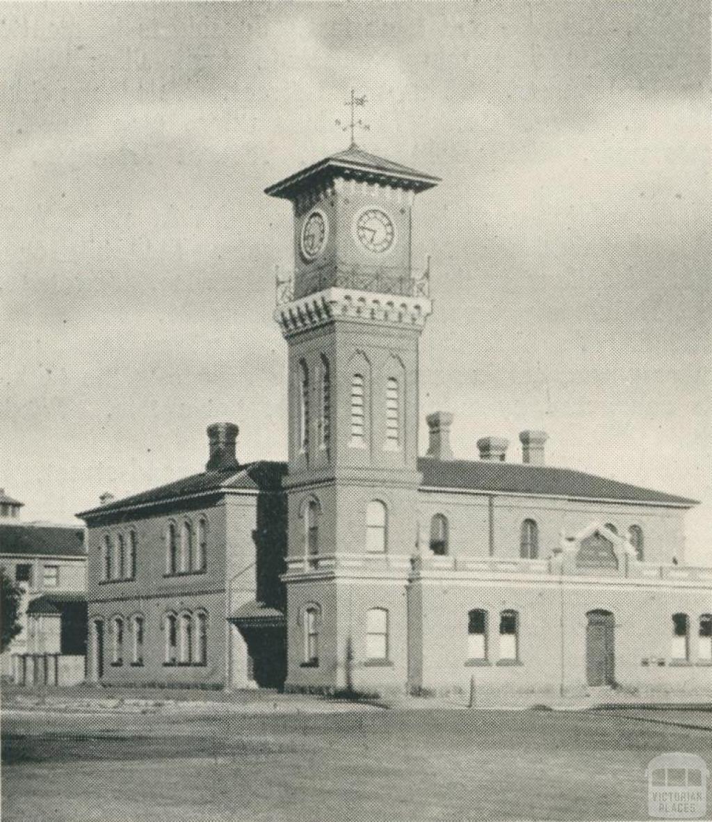 Sale Post Office, 1938