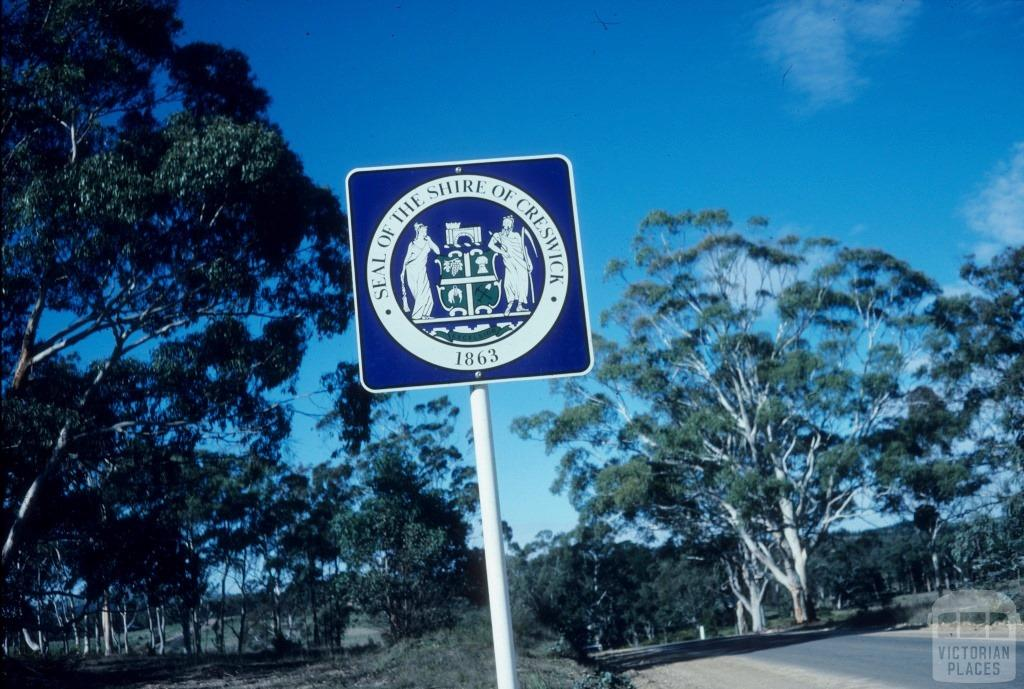 Shire of Crewick sign