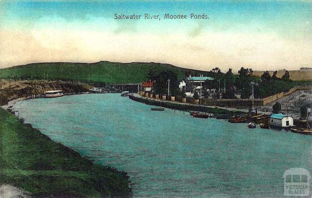 Saltwater River, Mooney Ponds c1910